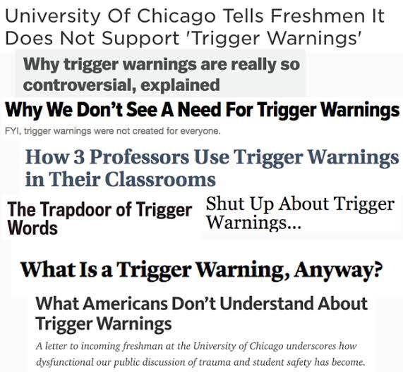 10 Things Psychologists Want You To Know About Trigger Warnings
