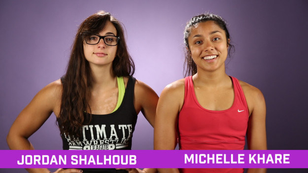 Hi! We're Michelle and Jordan. This summer, we decided to take on the challenge of training like UFC fighters for 60 days.