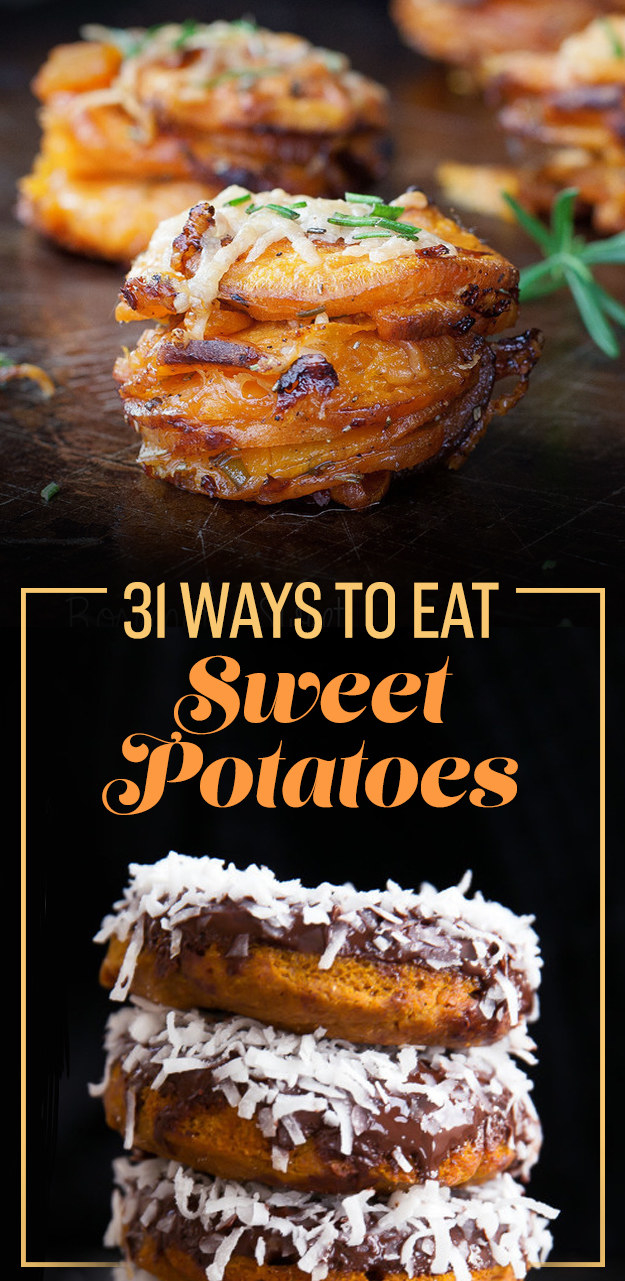 31 Seriously Delicious Ways To Eat Sweet Potatoes