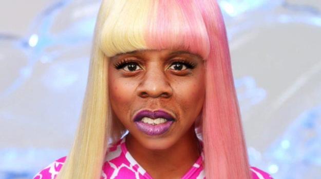 La voz de Nicki Minaj es en realidad la de Jay Z.