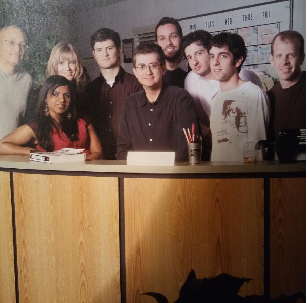 Mindy Kaling took us back to her early days as a writer on The Office.