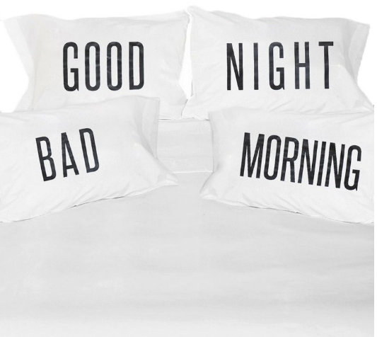 A set of pillowcases that'll put a smile on your face.