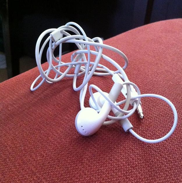 Ni Cositas era tan buena con las manos como tú desde que tienes estos malditos audífonos con cables nefastos.