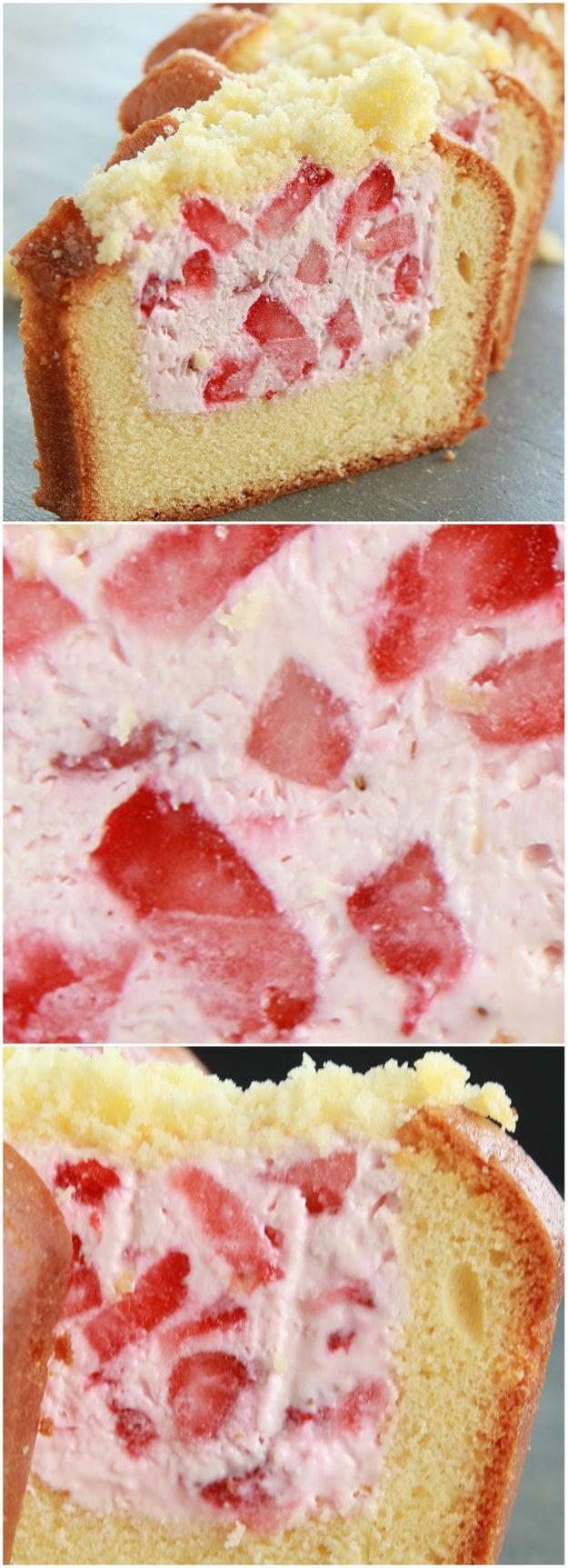 Buzzfeed Strawberry Cake