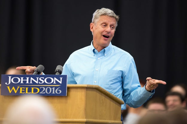 This is Gary Johnson, the former governor of New Mexico and the 2016 Libertarian candidate for President of the United States of America.