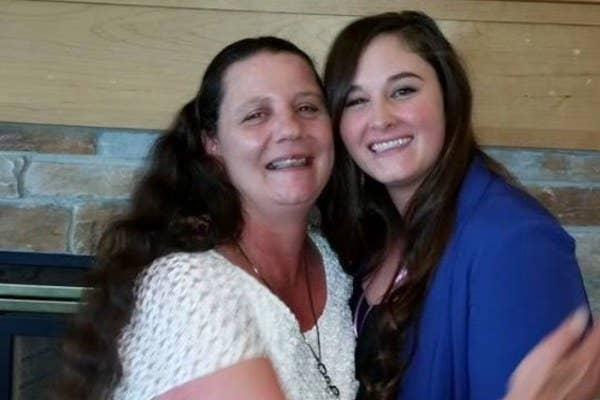 Rita Maze, left, was found dead inside the trunk of a car in Spokane, Washington.