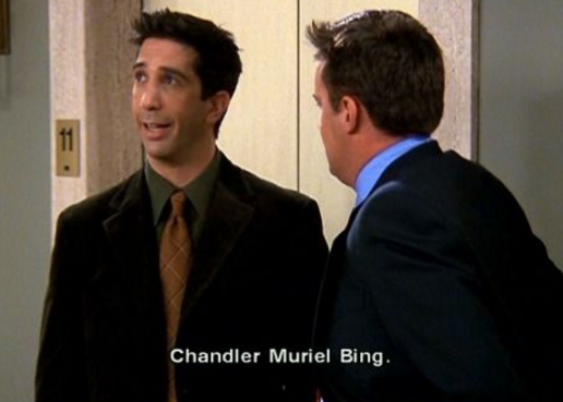 Nunca revelaron los segundos nombres de Phoebe ni de Mónica.