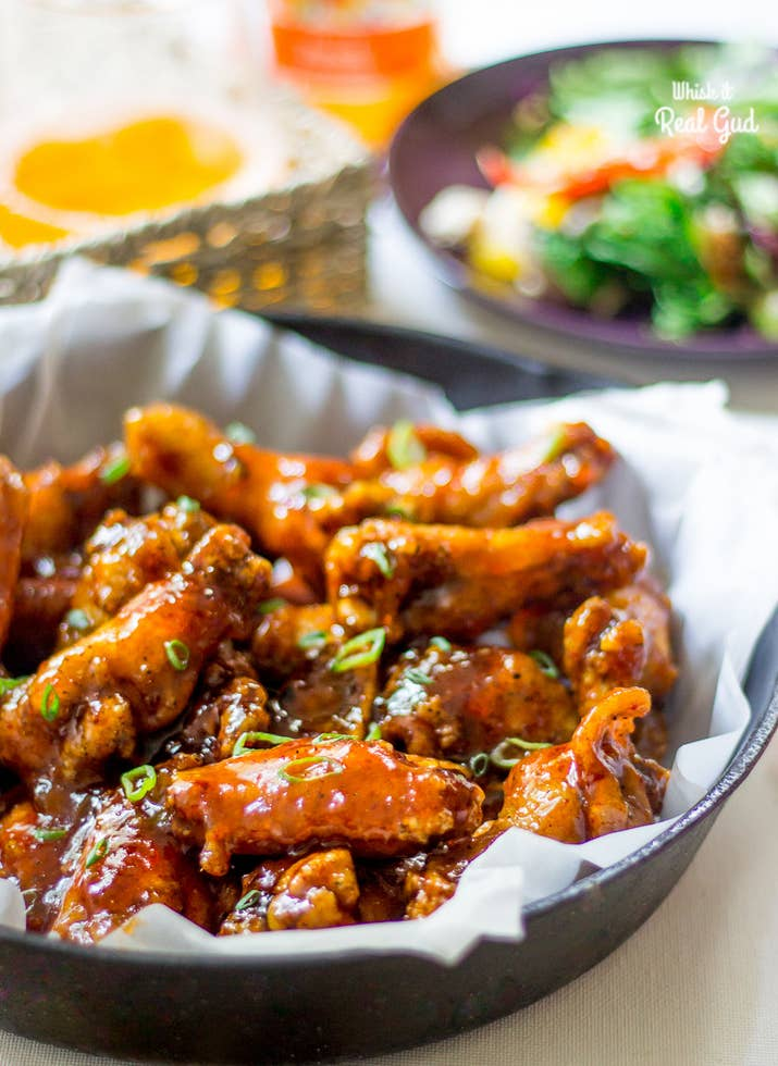 15 of the most delicious chicken wings youll ever eat peach chipotle honey wings recipe here forumfinder Images