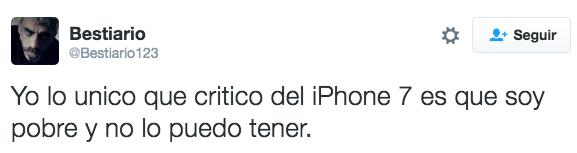 Así que querías un iPhone 7...