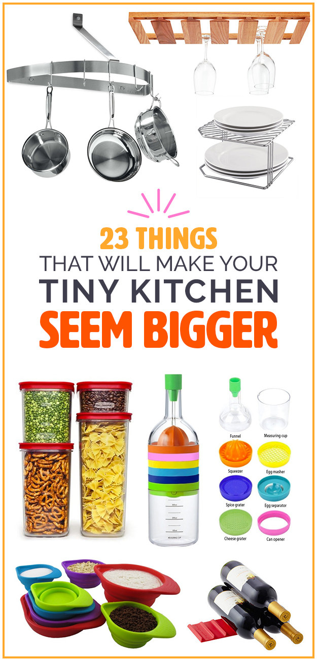23 Things Anyone With A Tiny Kitchen Needs