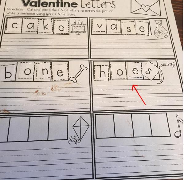 Even their homework can be entertaining.