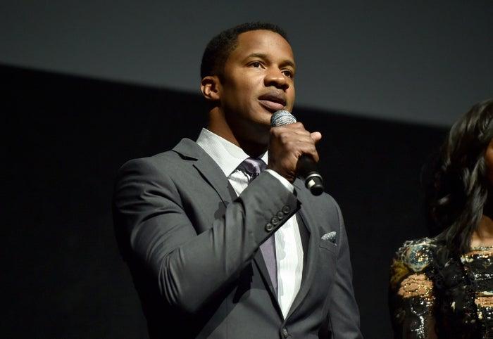 Nate Parker during CinemaCon 2016 on April 14 in Las Vegas.
