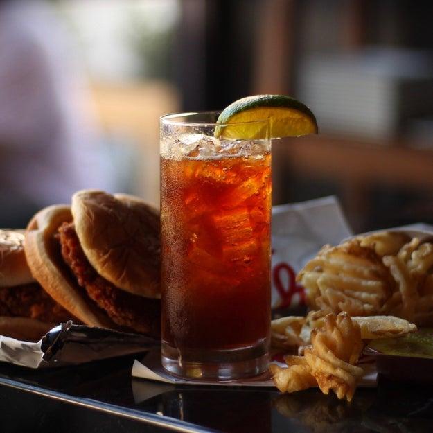 "The ""Baldoria Cuba Libre"" + Chick-fil-A's Fried Chicken Sandwiches:"