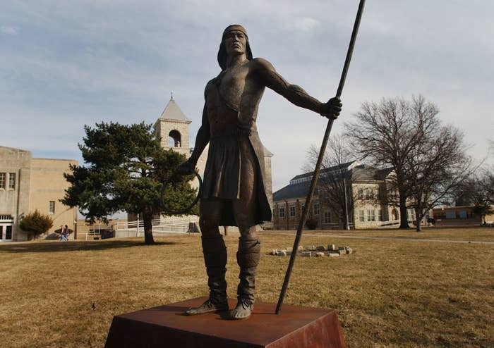 The campus of Haskell Indian Nations University in Lawrence, Kansas.
