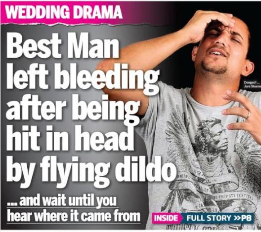 This dildo disaster: