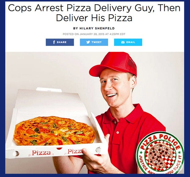 The pepperoni police: