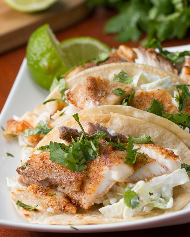 Easy fish tacos for Making fish tacos