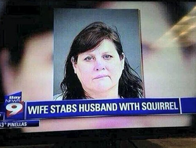 This woman who was just doing what she needed to do: