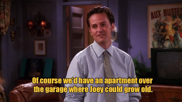 Is Monica still a chef? Does Joey actually live in Monica and Chandler's guest room in the suburbs?