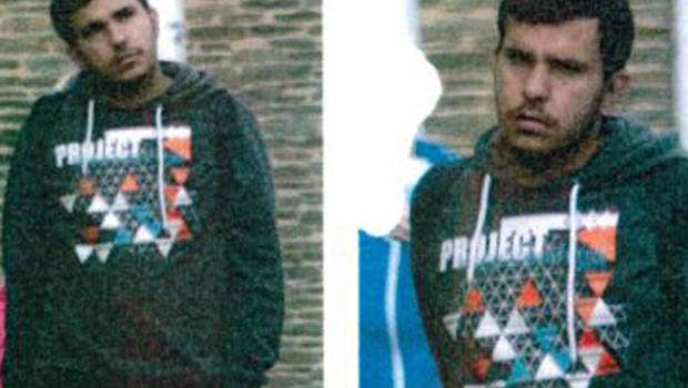 Image of Jaber al-Bakr released by the Saxony police