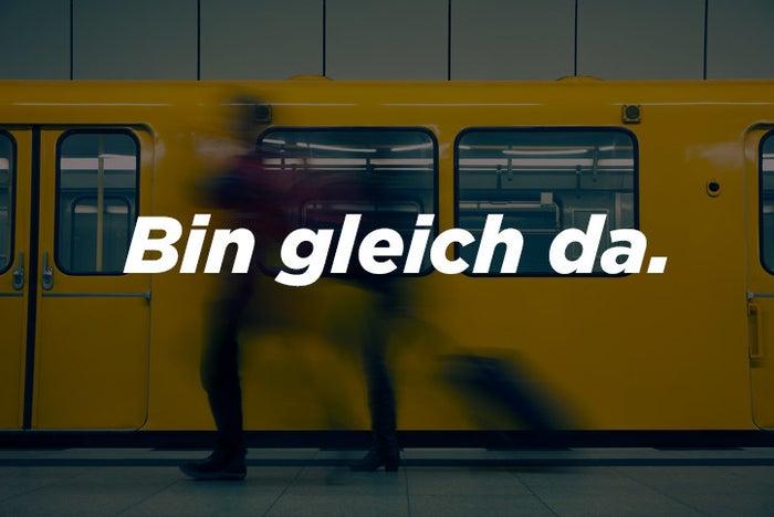 Warum es eine Lüge ist: Egal ob die andere Person im gleichen Kiez oder am anderen Ende der Stadt wohnt: In Berlin gibt es kein GLEICH. Jede Strecke dauert 45 Minuten - das ist ein Naturgesetz hier.
