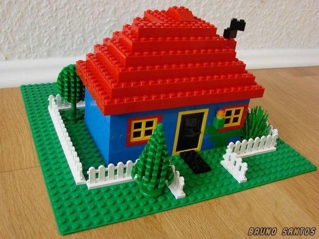 Você construindo coisas na infância: