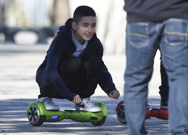 O meio de transporte das crianças de hoje: