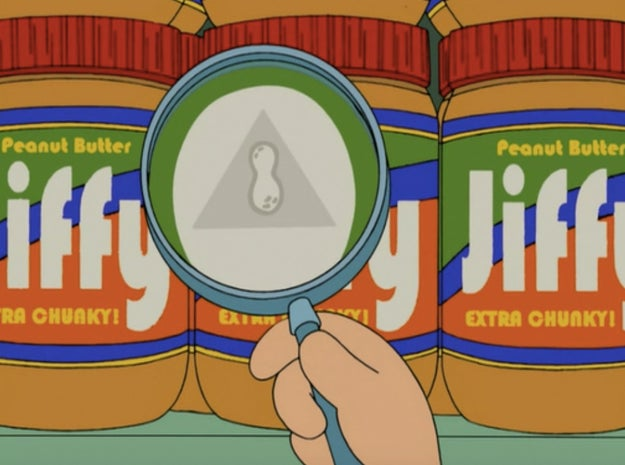 Jiffy peanut butter doesn't exist.