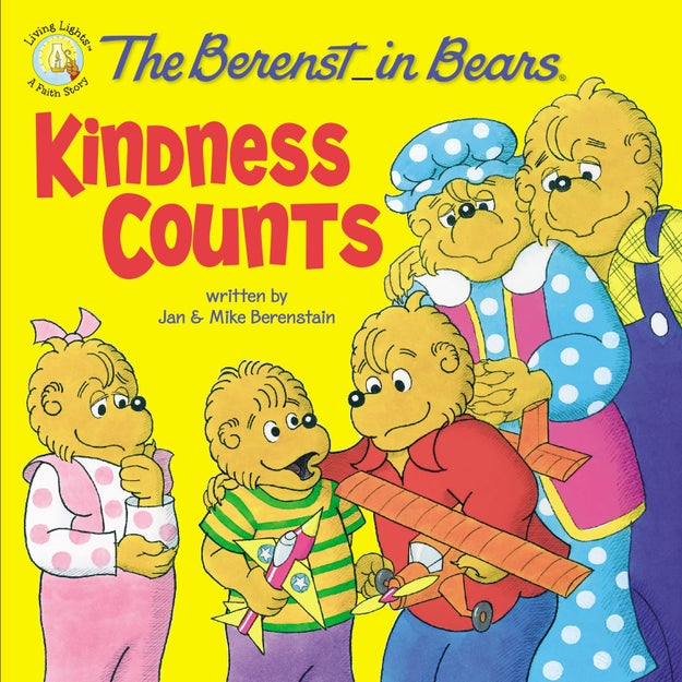 """The Berenstein Bears"" are actually called ""the Berenstain Bears."""
