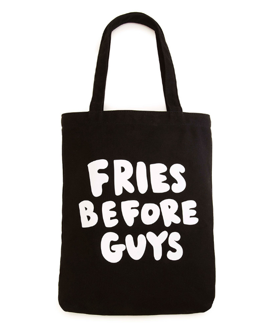 This eco-friendly tote with an essential message.