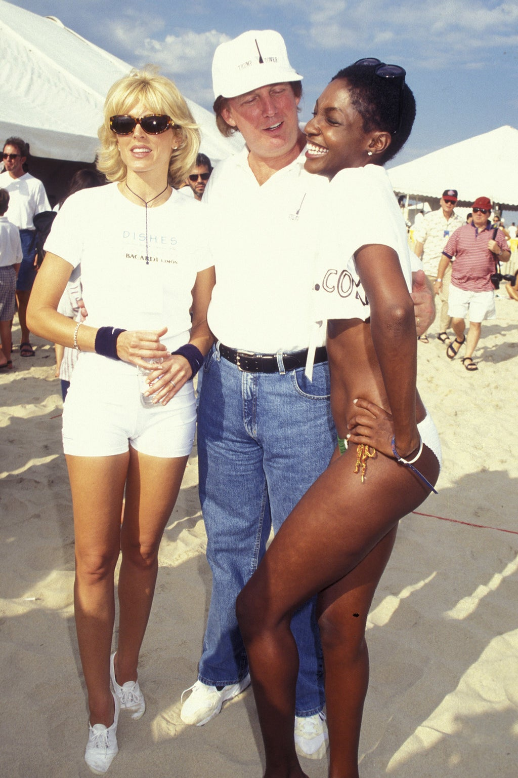 29 Pictures Of Donald Trump With Women That Are Hard To