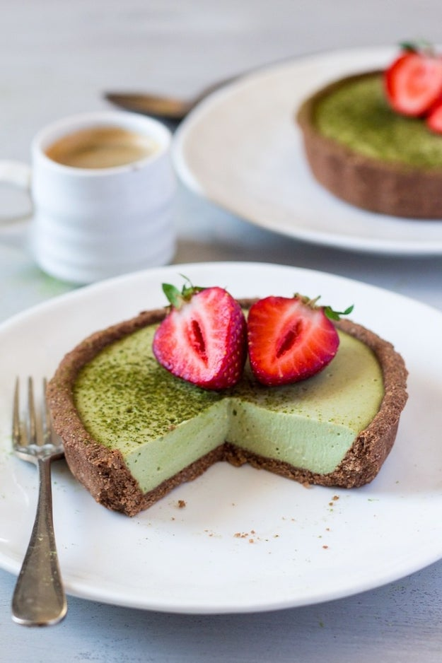 Vegan Matcha Coconut Tart
