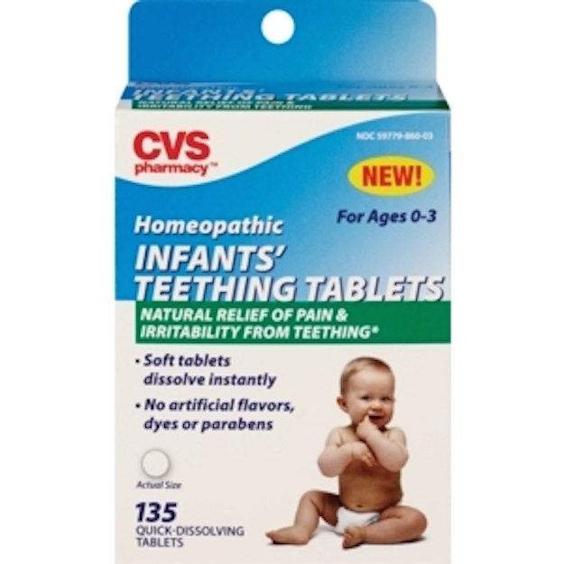 The agency advised consumers to stop using homeopathic teething gels and tablets following a report of a child having a seizure after using the product.
