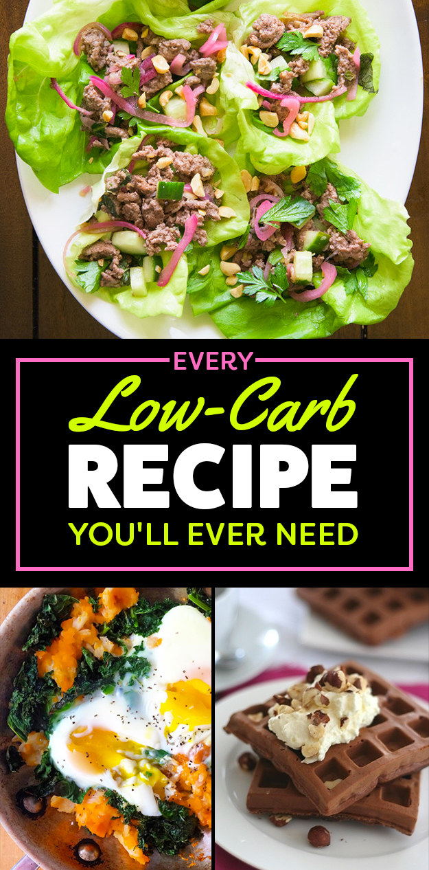 103 Things To Cook If You're Trying To Eat Fewer Carbs