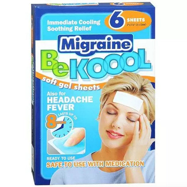 """""""I don't even bother with medicine most of the time because of these; I just place one on my forehead and my migraines are often gone in half an hour or less. They're miracles, I swear!"""" —Amber Allen, FacebookGet them ($5.29/pack) here."""