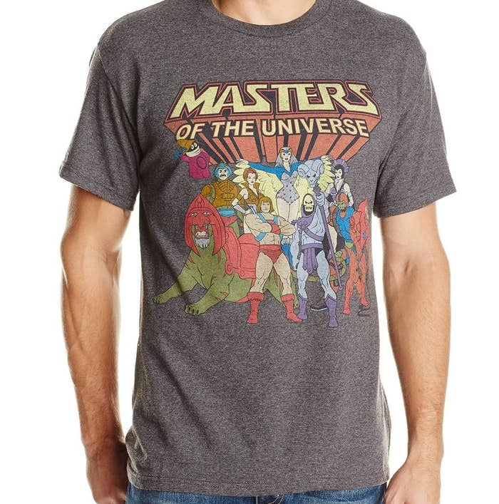 55c5025c A shirt to recognize He-Man's second — and super short — TV comeback in  1990.