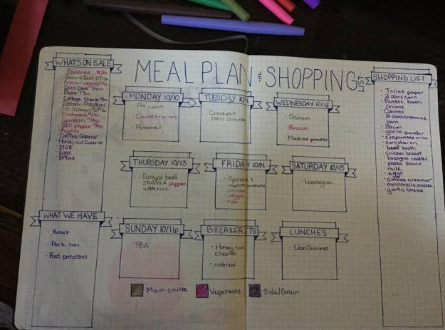 """""""Create a meal plan! When I started planning what we would eat for each meal, our grocery costs went down by almost half!""""—Larissa Norris Taylor, Facebook""""I cannot over-emphasize how much time and money meal planning will save you. It will cut down on the amount of groceries you buy and will also give you time to consider what supermarket has the best prices on the items you need.""""—katee27"""