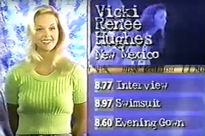 Victoria Hughes at the 1997 pageant.