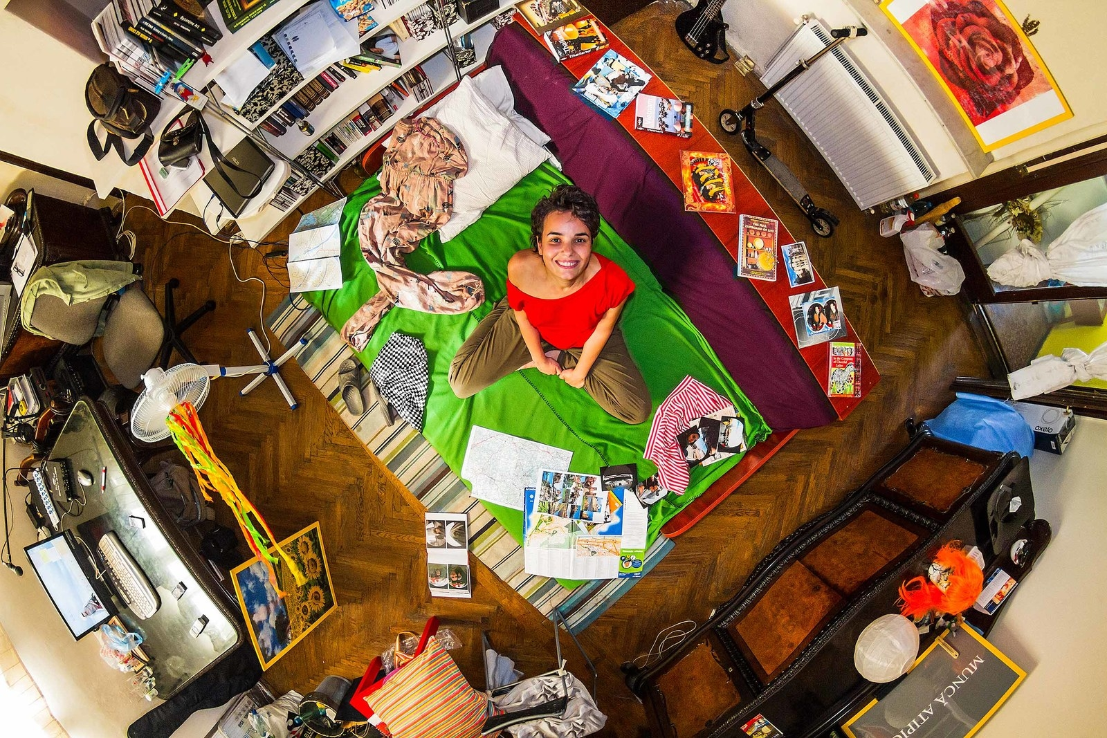 This Is What Millennials' Bedrooms Look Like Around The World