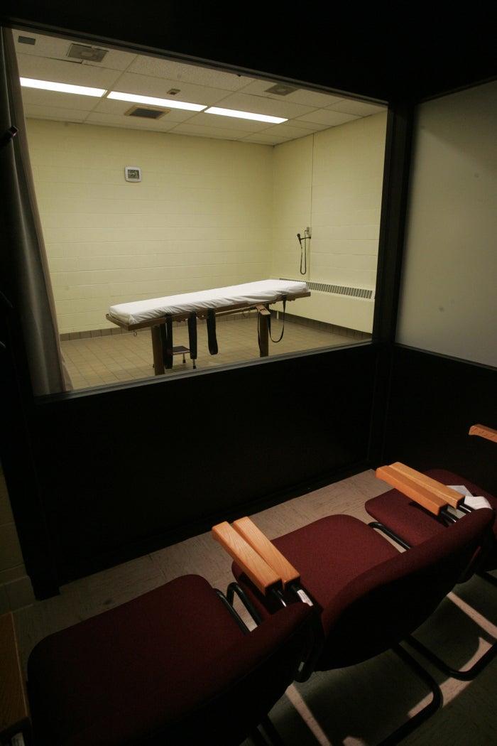 Ohio's execution chamber