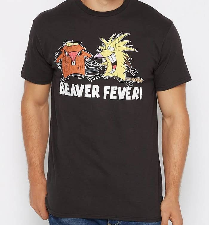 6f9cf038 A shirt that will let you serve beaver brother realness.