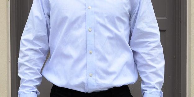 Ill-fitting dress shirts