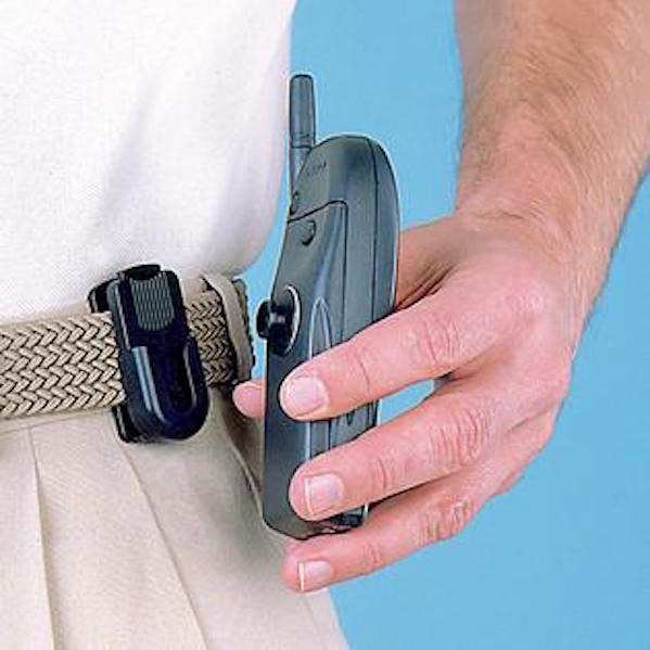 Cell phone clip