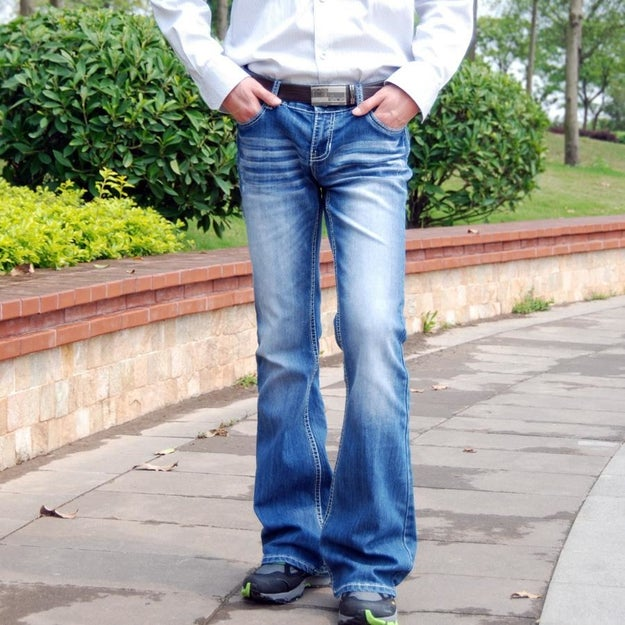 Boot-cut/flared jeans