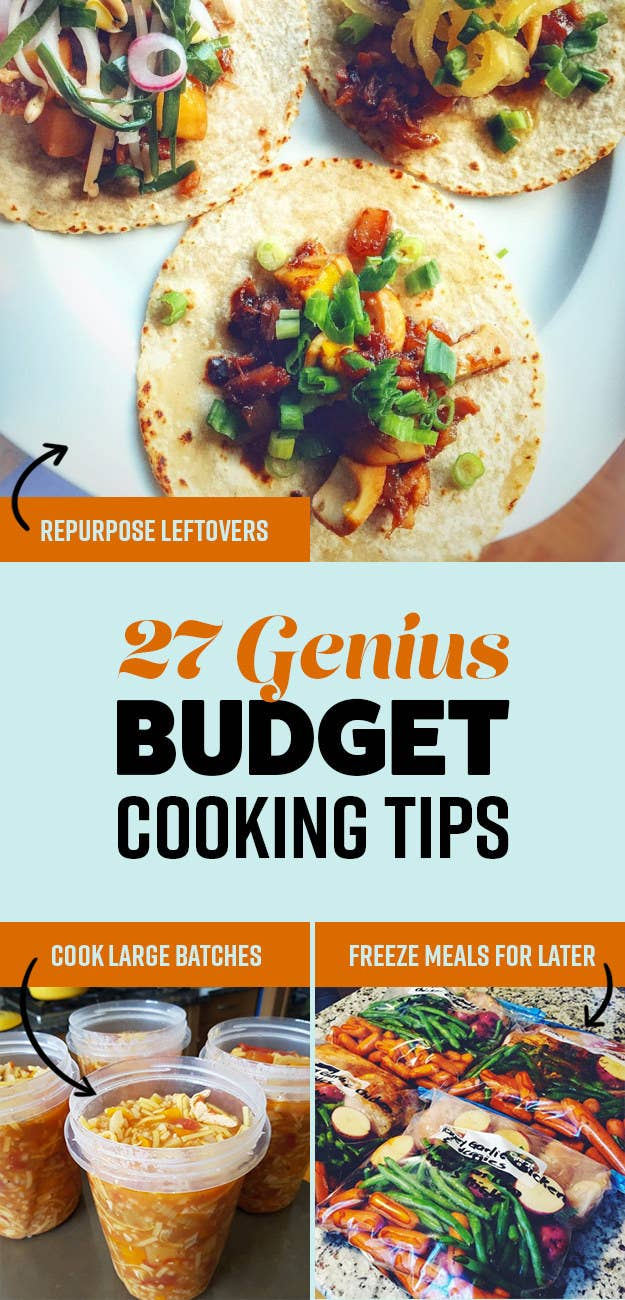 We Recently Asked The Buzzfeedmunity How They Eat Healthy Without  Spending A Lot Of Money Here Are Their Best Budget Cooking Tips!