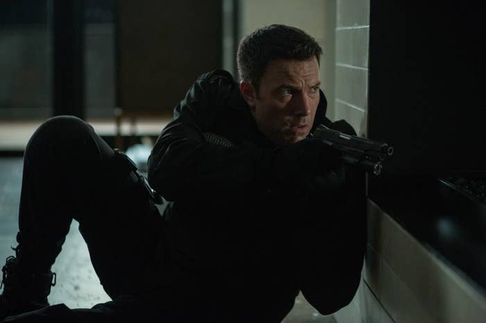Affleck in The Accountant.