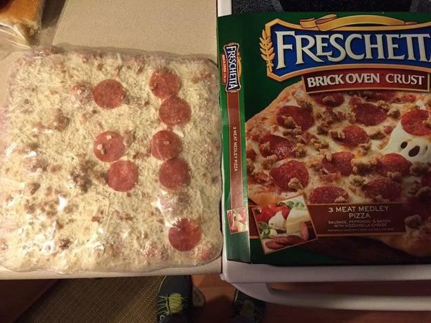 Cette pizza.