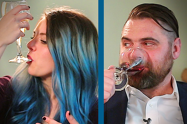 Watch This Wine Mom Square Off Against A Professional Sommelier