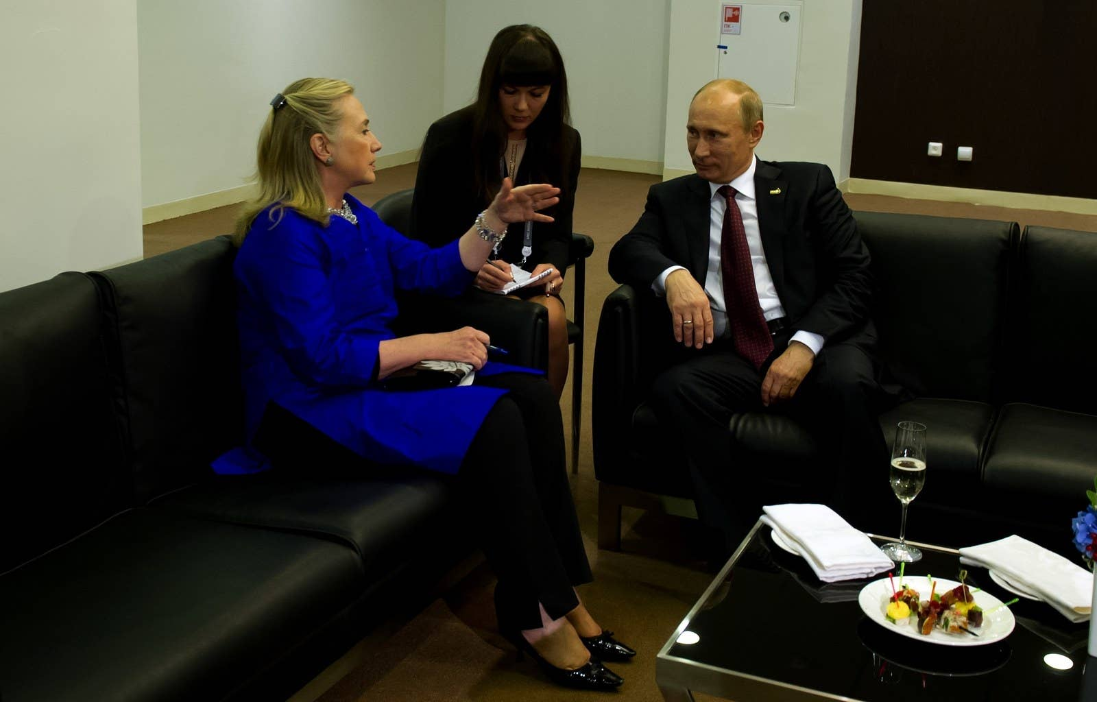Russian intervention in us election was no one off irish times - Then Secretary Of State Hillary Clinton Talks With Russian President Vladimir Putin In 2012