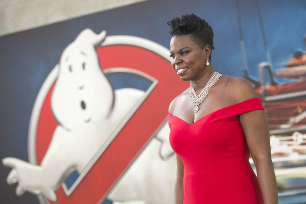 This is Leslie Jones: actress, comedian, and MASSIVE Olympics fan.